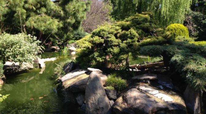 Peaceful Adelaide Himeji garden